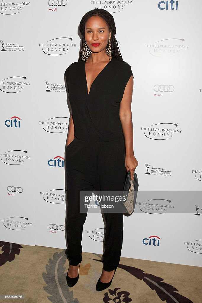 Joy Bryant attends the 6th annual Television Academy Honors at Beverly Hills Hotel on May 9, 2013 in Beverly Hills, California.