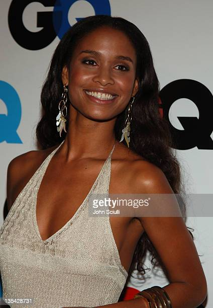 Joy Bryant during GQ Magazine Celebrates the 2005 Men of the Year Arrivals at Mr Chow in Beverly Hills California United States