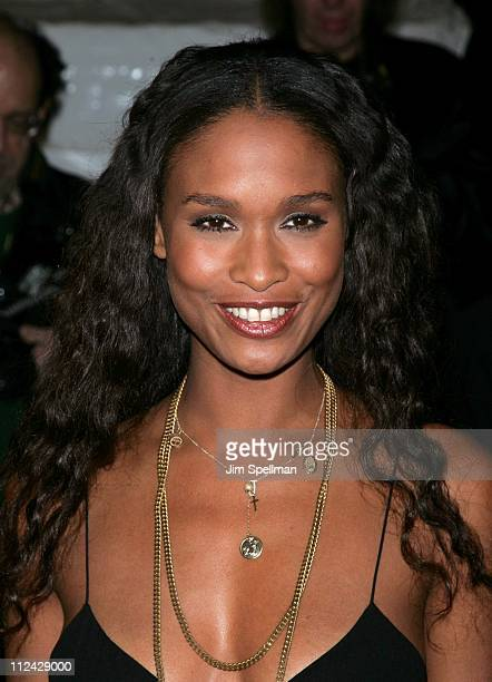 Joy Bryant during 'Jarhead' New York City Premiere Outside Arrivals at Ziegfeld Theater in New York City New York United States