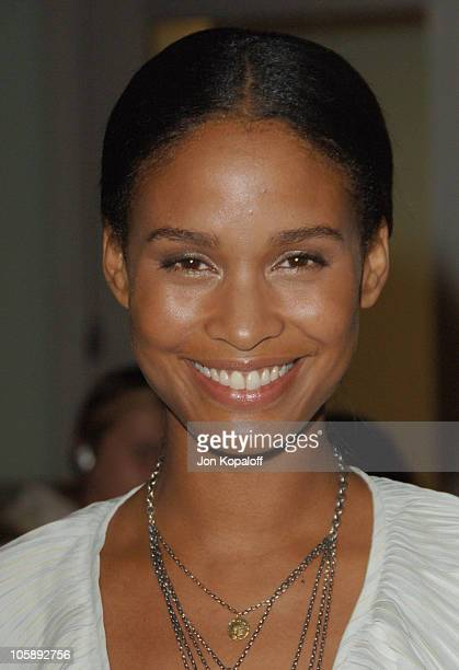 Joy Bryant during 'London' Los Angeles Premiere Arrivals at ArcLight Hollywood in Hollywood California United States