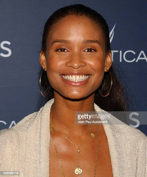Joy Bryant during Nautica Details 'Next Big Things' Party Arrivals at The Hollywood Roosevelt Hotel in Hollywood California United States