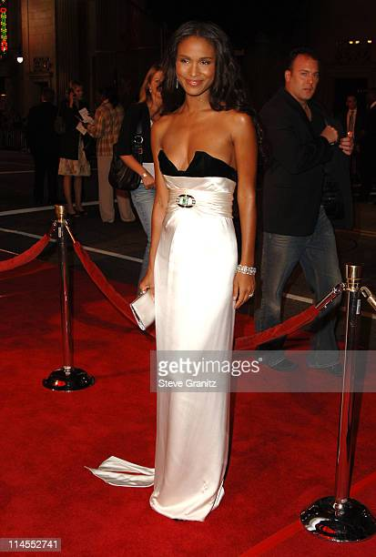 Joy Bryant during Paramount Pictures' 'Get Rich or Die Tryin'' Los Angeles Premiere Arrivals at Grauman's Chinese Theatre in Hollywood California...