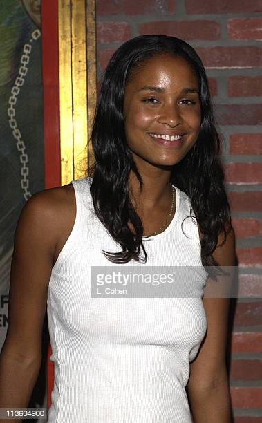 Joy Bryant during Premiere of Lucky Strike Lanes 'Bowling Lounge' at Lucky Strike Lanes in Hollywood California United States