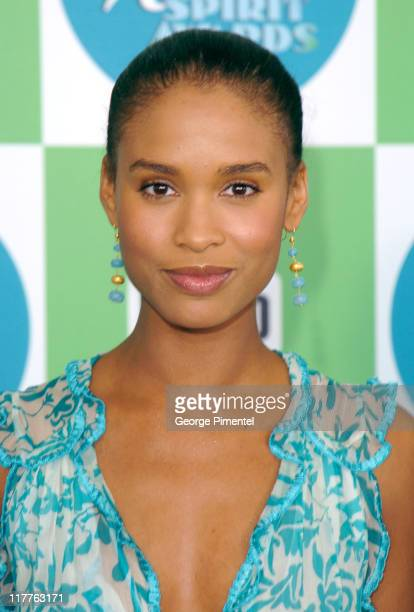 Joy Bryant during The 20th Annual IFP Independent Spirit Awards Bravo on the Red Carpet in Santa Monica California United States