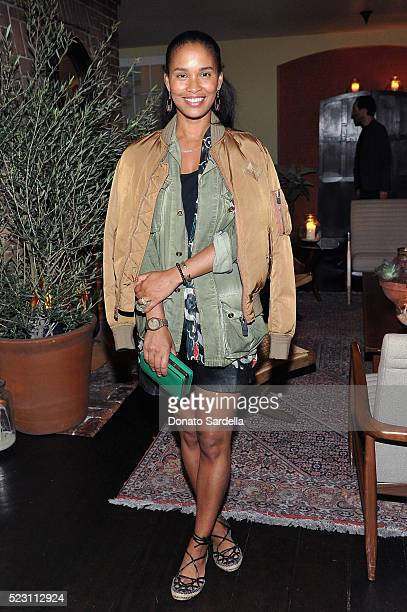 Joy Bryant wearing Bally attends Bally Dinner celebrating Beverly Hills flagship store opening in support of Communities in Schools on April 21 2016...