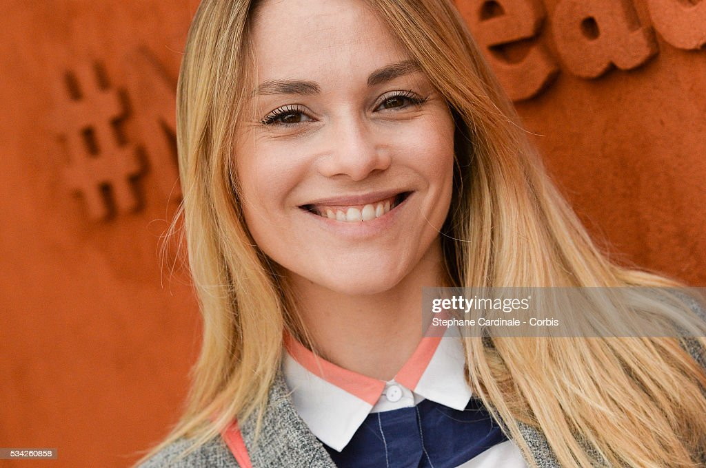 Joy Esther attends day four of the 2016 French Open at Roland Garros on May 25, 2016 in Paris, France.
