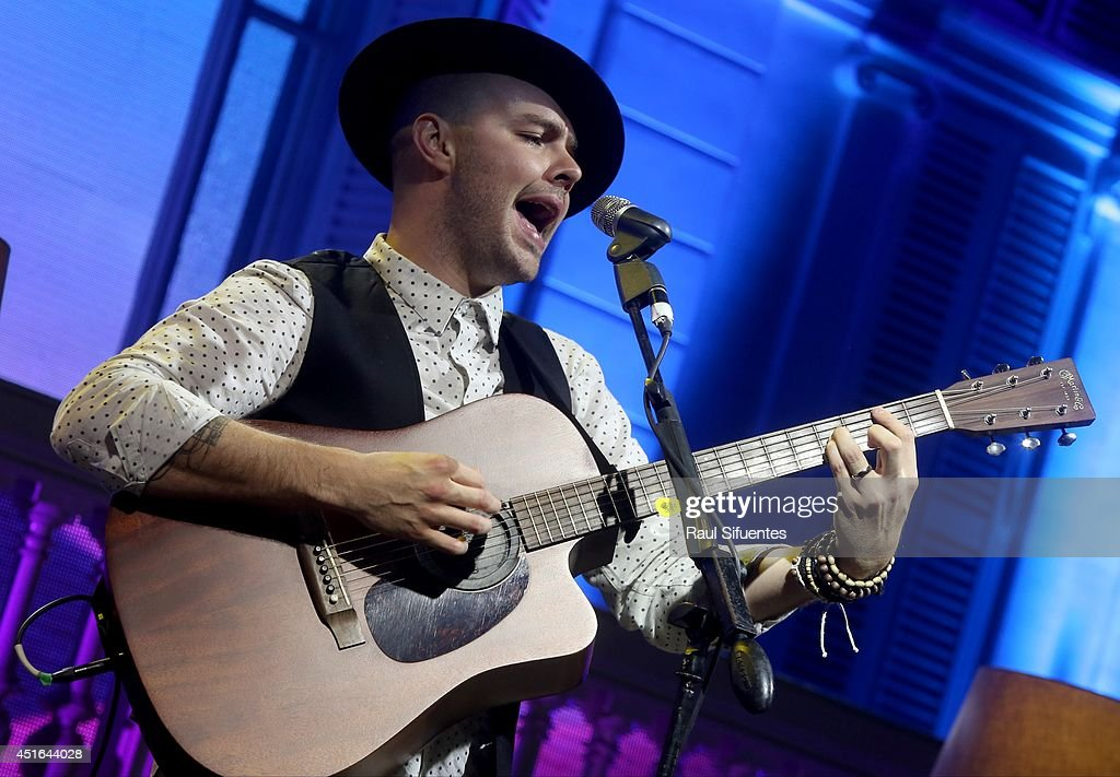 <a gi-track='captionPersonalityLinkClicked' href=/galleries/search?phrase=Joy+Huerta&family=editorial&specificpeople=6343573 ng-click='$event.stopPropagation()'>Joy Huerta</a> of Jesse & Joy perform onstage during the Latin GRAMMY Acoustic Session at Museo Pedro de Osma on July 2, 2014 in Lima, Peru.