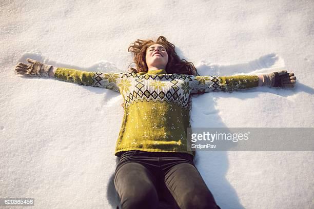 Joy dans la neige