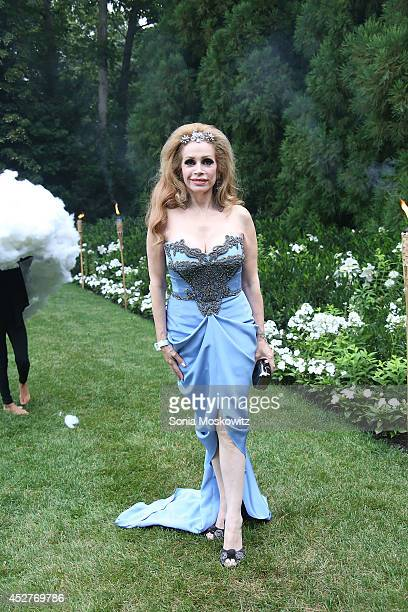 Joy Marks attends the 21st Annual Watermill Summer Benefit at The Watermill Center on July 26 2014 in Water Mill New York