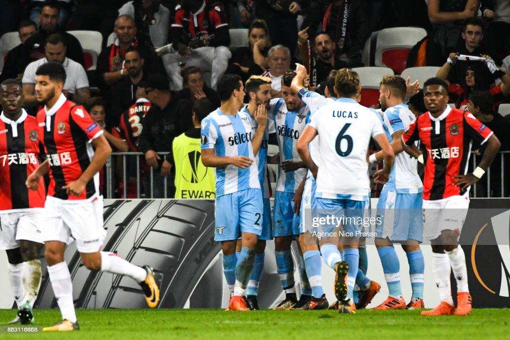 OGC Nice v Lazio Roma - Europa League