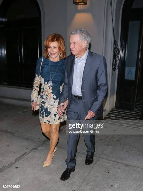 Joy Philbin and Regis Philbin are seen on July 05 2017 in Los Angeles California