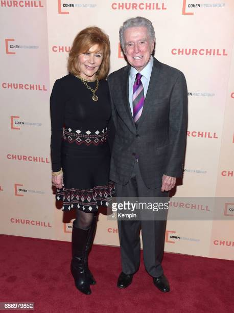 Joy Philbin and Regis Philbin attend the 'Churchill' New York Premiere at the Whitby Hotel on May 22 2017 in New York City