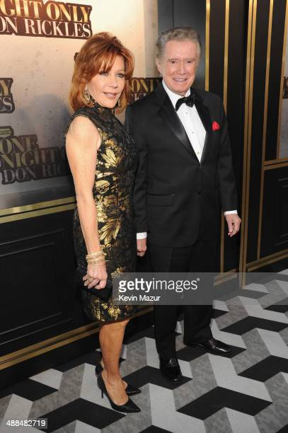 Joy Philbin and Regis Philbin attend the Spike TV's 'Don Rickles One Night Only' on May 6 2014 in New York City