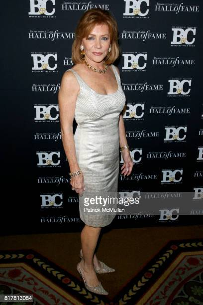 Joy Philbin attends 20th Annual BROADCASTING and CABLE HALL OF FAME Gala at Waldorf Astoria on October 27 2010 in New York City