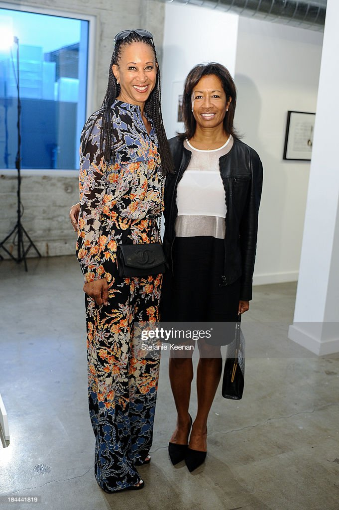 Joy Simmons and Rena Weaton attend The Mistake Room's Benefit Auction on October 13, 2013 in Los Angeles, California.