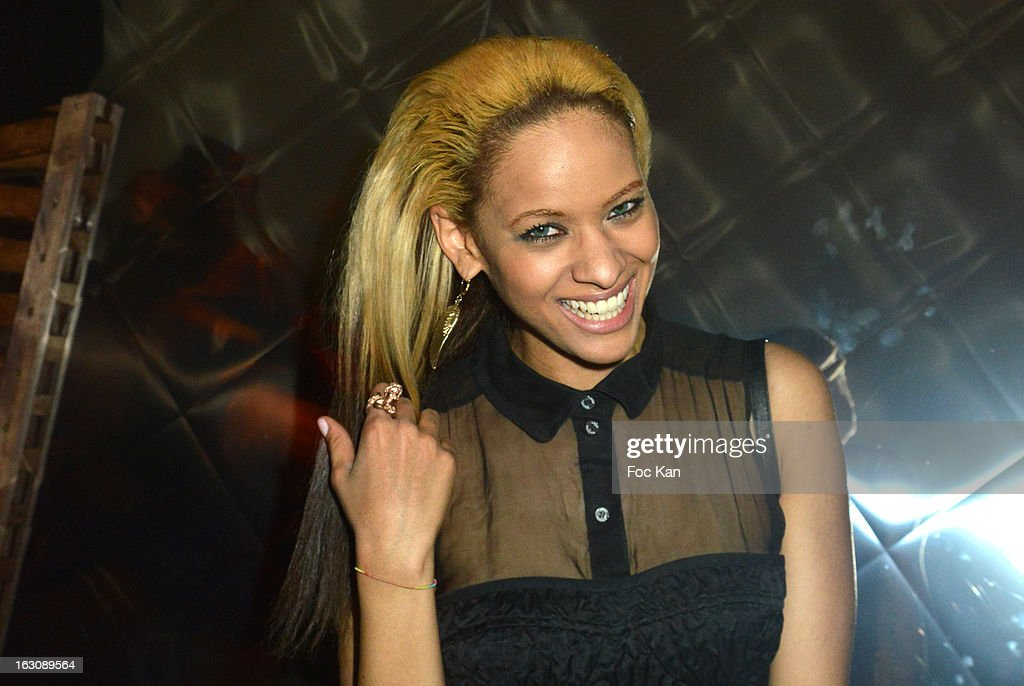 Joy Vieli attends the Diesel and Edun Party - PFW F/W 2013 at La Gaite Lyrique on March 3, 2013 in Paris, France.
