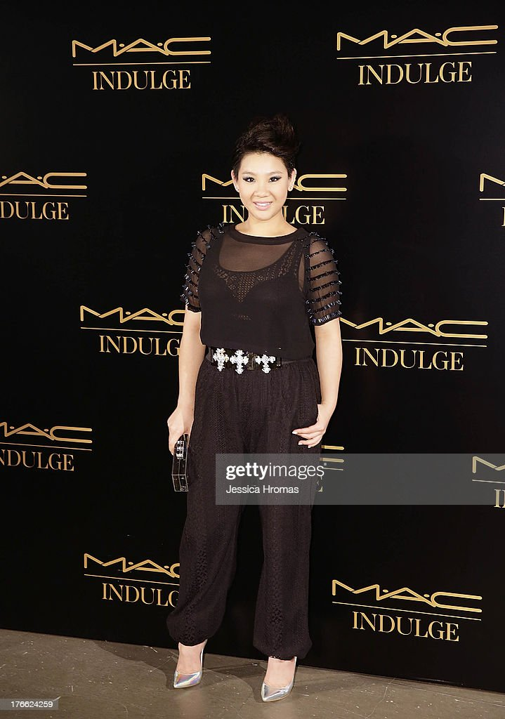 Joyce Cheng attends the 'Dazzling M.A.C Indulge Event' to launch their Fall 2013 luxury line of cosmetics on August 16, 2013 in Hong Kong, Hong Kong.