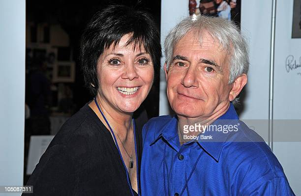 Joyce DeWitt and Richard Kline attends the 2010 New York Comic Con at the Jacob Javitz Center on October 8 2010 in New York City