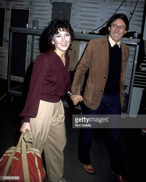 Joyce DeWitt and Ron Baktini during Easter Seals Telethon March 25 1979 at Los Angeles in Los Angeles California United States