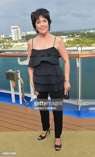 Joyce DeWitt attends Love Boat Cast Christening Of Regal Princess Cruise Ship at Port Everglades on November 5 2014 in Fort Lauderdale Florida