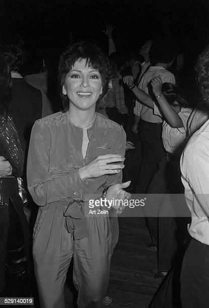 Joyce DeWitt dancing at a party circa 1970 New York