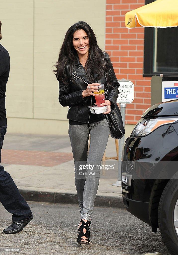 Joyce Giraud is seen on February 4, 2014 in Los Angeles, California.