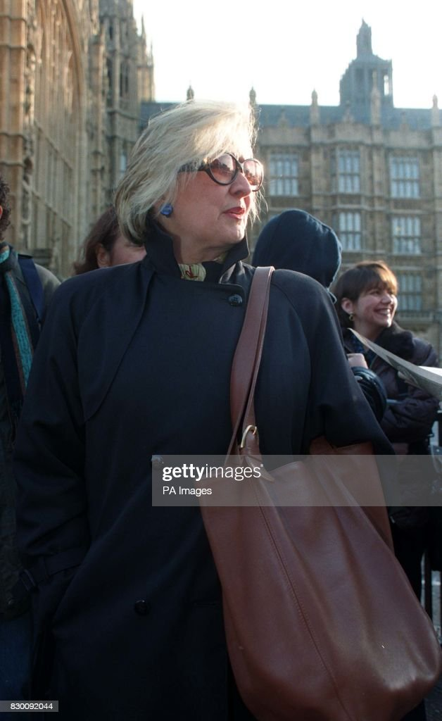 Joyce Horman, whose husband Charles was among those who 'disappeared' in Chile, in Westminster, today (Wednesday), where the House of Lords will today hear the case for detaining former Chilean dictator Augusto Pinochet in Britain pending a formal request for his extradition to Spain to face charges of genocide, torture and terrorism. Photo by Ben Curtis. See PA Story POLICE Pinochet.