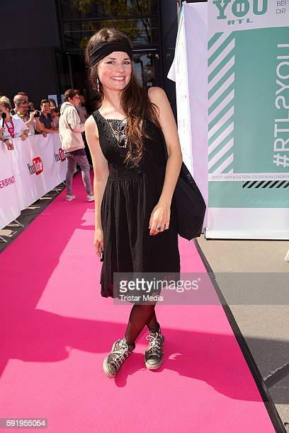 Joyce Ilg attends the VideoDays 2016 at Lanxess Arena on August 19 2016 in Cologne Germany
