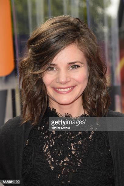 Joyce Ilg during the red carpet arrivals at the VideoDays 2017 at Lanxess Arena on August 24 2017 in Cologne Germany
