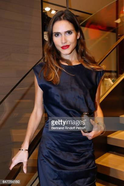 Joyce Jonathan attends the Max Mara 'Prism in Motion' Eventas with the presentation of the new collection Capsule of sunglasses Max Mara realized in...