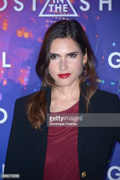 Joyce Jonathan attends the Paris Premiere of the Paramount Pictures release 'Ghost In The Shell' at Le Grand Rex on March 21 2017 in Paris France