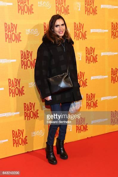 Joyce Jonathan during 'Baby Phone' Paris Premiere at Cinema UGC Normandie on February 20 2017 in Paris France
