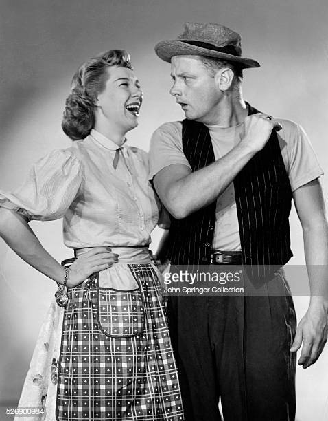 Joyce Randolph and Art Carney in their roles on The Honeymooners