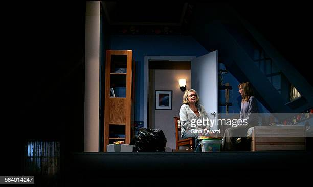 Joyce Van Pattenleft and Amy Ryan perform in the west coast's premiere of Rabbit Hole at the Geffen Playhouse in Westwood Sept 7 2006 The critically...