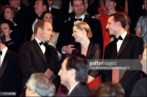 'Joyeuse Entree' Festivities for the Grand Duke Henri and Grand Duchess Maria Teresa in Luxembourg city Luxembourg on April 07 2001 Prince Albert of...