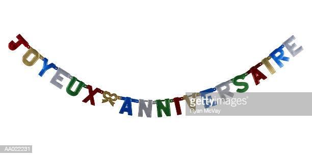 'Joyeux Anniversaire' Banner