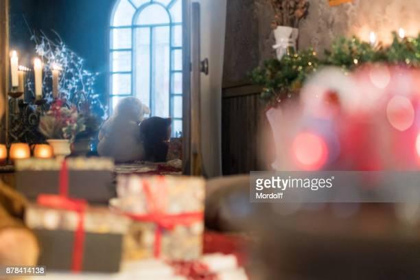 Fröhlich und Frohe Weihnachten