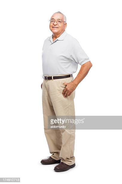 Joyful senior man