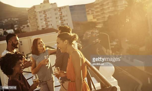 Joyful times with beautiful people