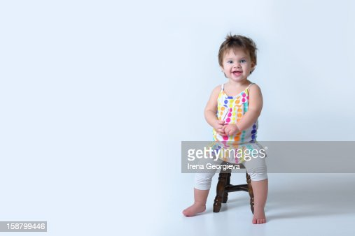 Joyful toddler : Stock Photo
