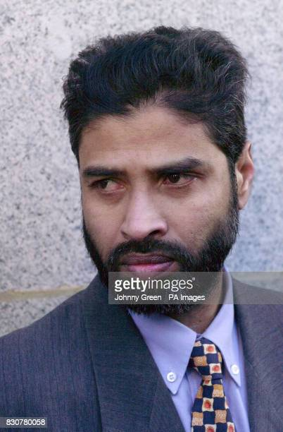 Joynal Uddin brotherinlaw of Shiblu Rahman the cook who was stabbed and beaten to death outside his house in Bow east London in April following a...