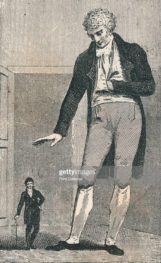 Jozef Boruwlaski and Patrick Cotter O'Brien c1780 Count Jozef Boruwlaski was a Polishborn dwarf who toured in European and Turkish courts Patrick...