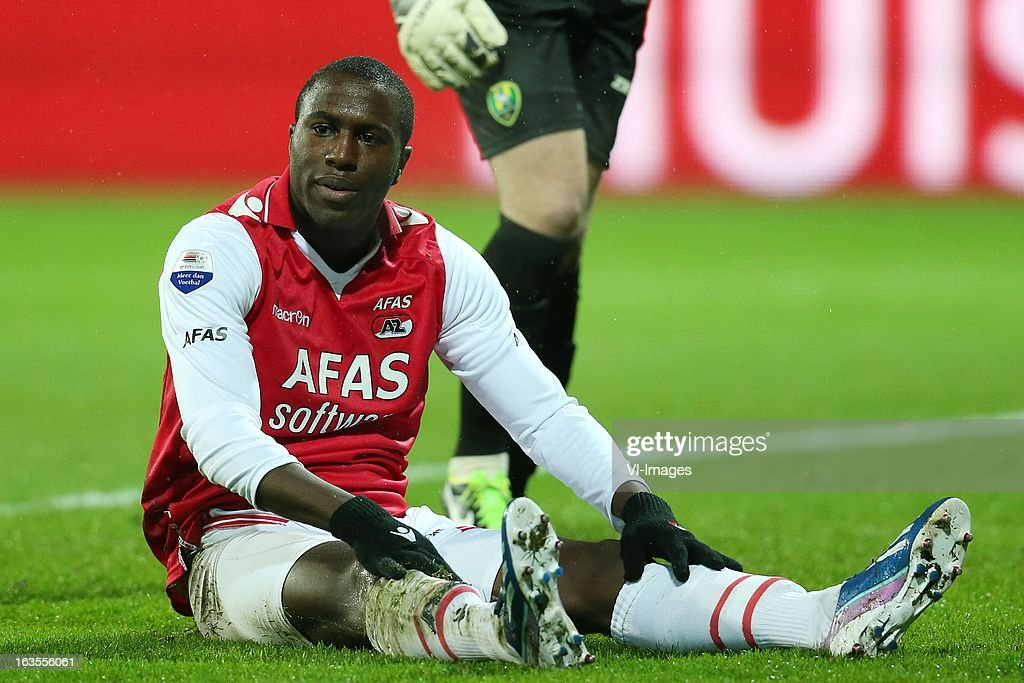 Jozy Altidore of AZ during the Dutch Eredivisie match between AZ Alkmaar and ADO Den Haag at the AFAS Stadium on march 09, 2013 in Alkmaar, The Netherlands