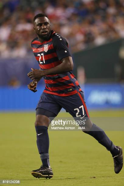 Jozy Altidore of United States of America during the 2017 CONCACAF Gold Cup Quarter Final match between United States of America and El Salvador at...