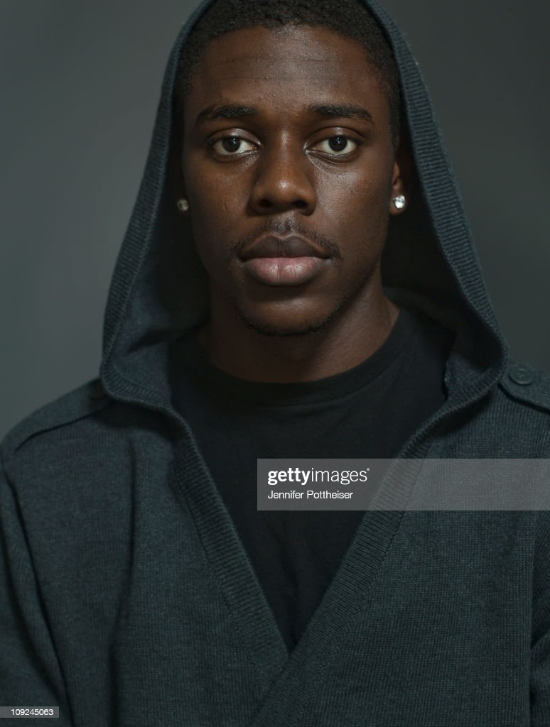Jrue Holiday of the Philadelphia 76ers poses for a portrait during the 2011 NBA Circuit as part of the 2011 NBA AllStar Weekend on February 17 2011...