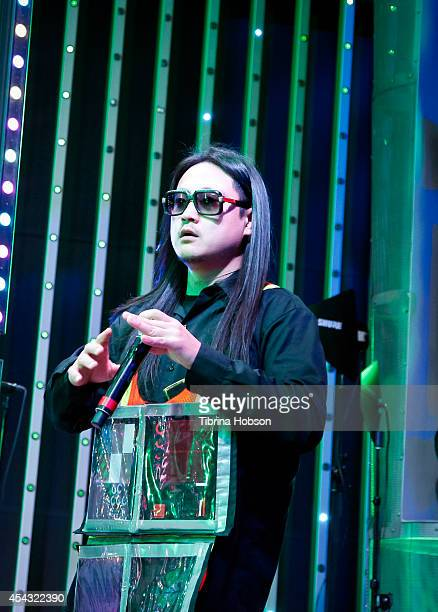 Splif performs at Universal CityWalk's music spotlight concert series at Universal CityWalk 5 Towers on August 28 2014 in Universal City California