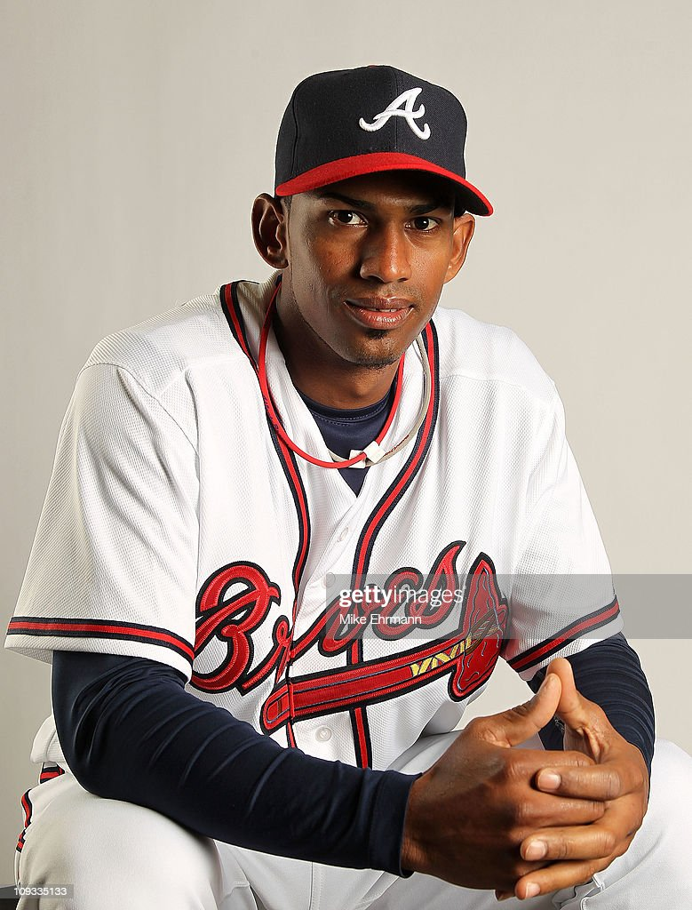 Juan Abreu #61 of the Atlanta Braves during Photo Day at Champion Stadium at ESPN Wide World of Sports of Complex on February 21, 2011 in Lake Buena Vista, Florida.