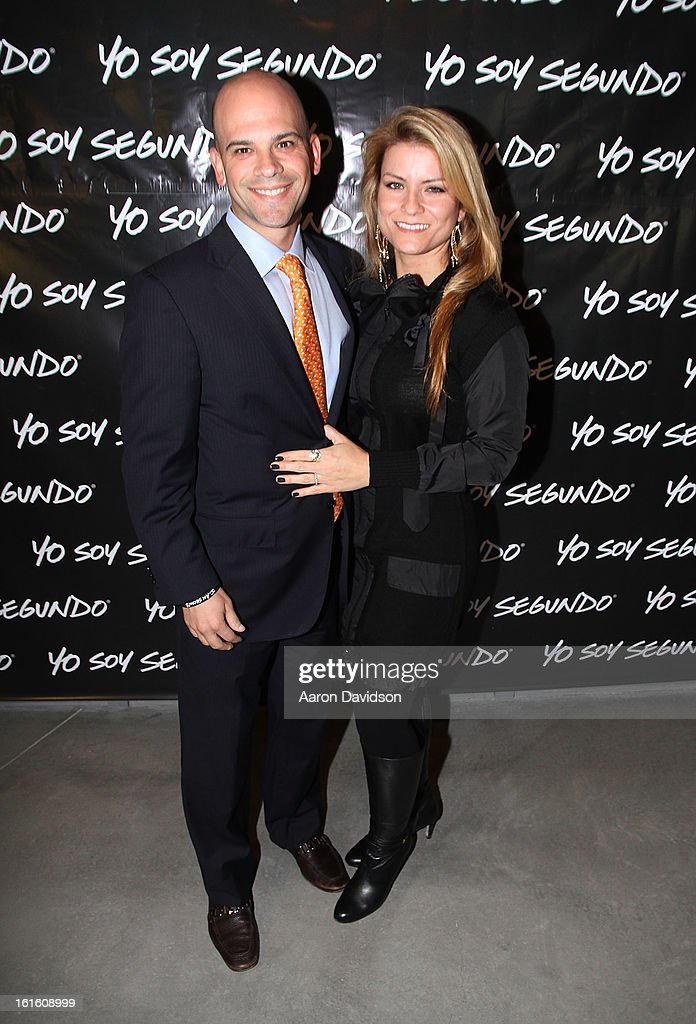 Juan and Ana Rivera attend Yo Soy Segundo With Myrka Dellanos at New World Center on February 12, 2013 in Miami Beach, Florida.