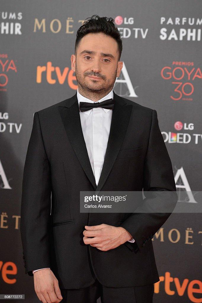 Juan Antonio Bayona attends Goya Cinema Awards 2016 at Madrid Marriott Auditorium on February 6, 2016 in Madrid, Spain.