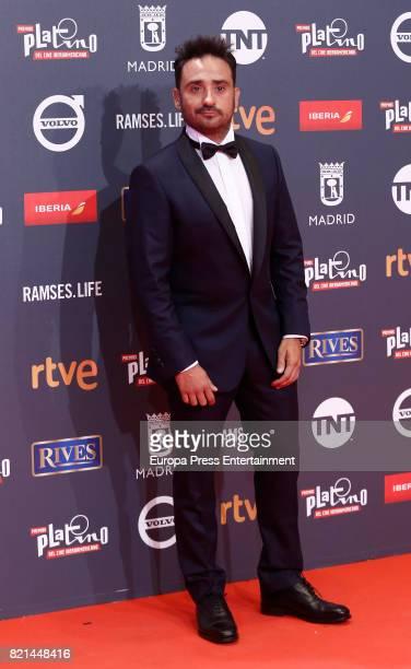 Juan Antonio Bayona attends Platino Awards 2017 at La Caja Magica on July 22 2017 in Madrid Spain